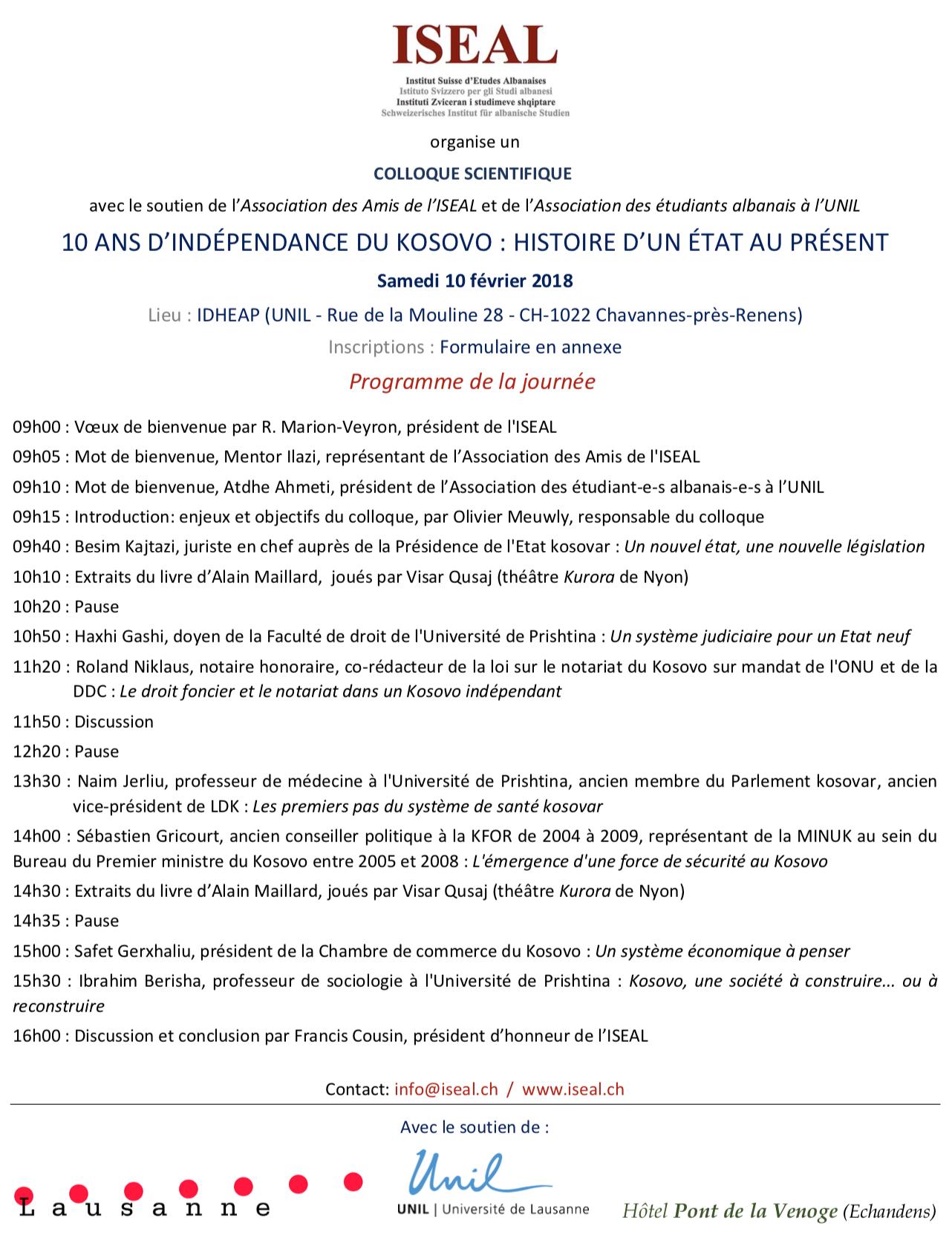 Programme d'Inscription Ecole de Musique POLYPHONIE TOSKE et GEGE
